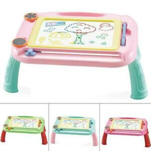 Kids Drawing Board Magnetic Writing Sketch Pad Erasable Graffiti Doodle Toy