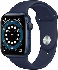 Apple Watch Series 6 44mm GPS Aluminiumgehäuse Sportarmband dunkelmarin - NEU