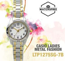 Casio Classic Series Ladies' Analog Watch LTP1275SG-7B