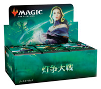 MTG Magic the Gathering War of the Spark booster box 36 Pack Japanese Edition