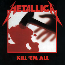 METALLICA - Kill 'Em All (Vinyl LP) Rhino / Blackened ND003R - NEW/SEALED