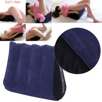 Toughage Sex Pillow Cushion Bolster Love Position Kit Set Furniture Inflatable