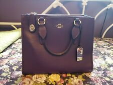 Authentic Coach Ultra Violet (Purple) Large Crosby Carryall purse. Used once.
