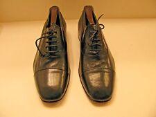 Pierre Balmain Paris High Fashion Mens Oxfords Black Dress Shoes US 9  EUR 42