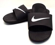 08eb92e9c523 Nike Kawa Slides Sandals Black   White US Size 12 - FREE SHIPPING - BRAND  NEW