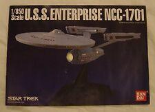 STAR TREK BANDAI USS ENTERPRISE NCC-1701 1/850 MODEL MINT