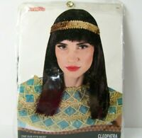 Teenage Girls Cleopatra Egyptian Halloween Fancy Dress Costume Outfit 12-17 yrs