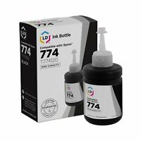 LD Compatible High Capacity Black Ink Bottle for Epson 774 (T774120)