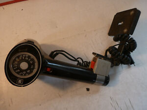 Vintage Honeywell Strobonar Pressmaster 800 Black Flash And Handle Camera Mount