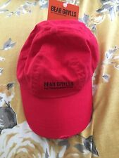 BEAR GRYLLS By Craghoppers Fan Hat Size S/m In Bear Red Baseball Cap Men's New