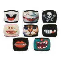 Lustige Print Maske bunt einzigartig Schutz