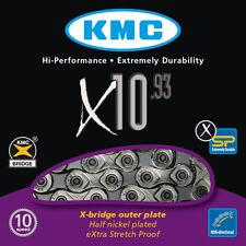 CATENA KMC X10.93 per trasmissione 10 VELOCITA SHIMANO SRAM COMPATIBILE