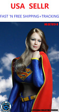 *USA STOCK* 1/6 SUPERGIRL Head Sculpt w/ Uniform Set B for SUNTAN Phicen body