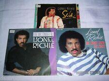 """3 x 7"""" - Lionel Richie / All Night Long Love will conquer all Se La # 2802"""