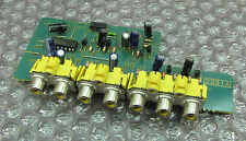 SONY STR-DE615 Receiver REPAIR PART - Video RCA PCB 1-665-472-11