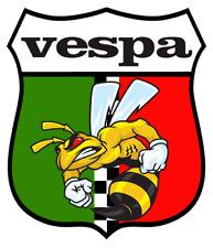 Vespa car motorcycle sticker biker italy italian scooter vesper rome mods