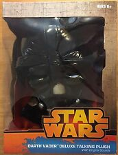 "Star Wars Darth Vader Talking Plush Size 15"" with Original Movie Sounds New"