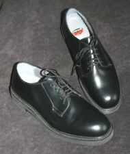 Geek Squad Dress Shoes Black Leather Uppers 7.5C Great Shape! Oxfords