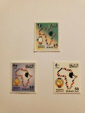 Sudan Stamps Set, 1998 Pan African Postal Union 18Th Anniversary. Sc#497-499