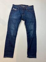 DIESEL THOMMER SLIM SKINNY Jeans- W34 L32 - Navy - Great Condition -Men's