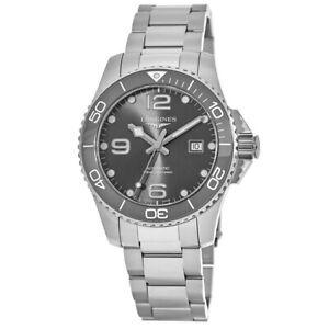 New Longines HydroConquest Automatic Ceramic Bezel Men's Watch L3.782.4.76.6