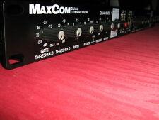 BBE MaxCom Dual Channel Compressor/Limiter/Gate/Sonic Maximizer.
