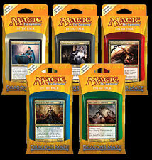 Dragon's Maze Set of all Five Intro Packs - ENGLISH - Sealed - Brand New - MTG