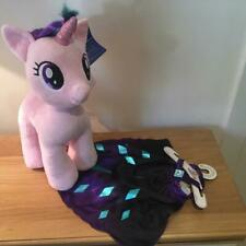 BUILD A BEAR FACTORY GORGEOUS MY LITTLE PONY STARLIGHT GLIMMER & CAPE BNWT