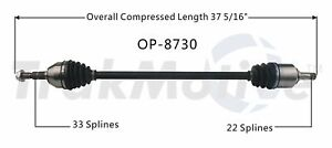 SurTrack OP-8730 CV Axle Shaft