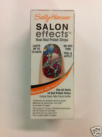 SALLY HANSEN SALON EFFECTS REAL NAIL POLISH STRIPS ( #580 Tattoo Much ) NEW.