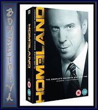 HOMELAND - THE COMPLETE SEASONS 1 &  2  **BRAND NEW DVD BOXSET **