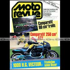 MOTO REVUE N°2684 HONDA ATC R MTX R DTLC YAMAHA YTZ 250 BOXER BIKES 1000 VECTEUR