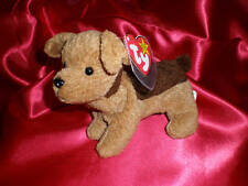 TY Beanie Baby TUFFY the Terrier Dog RETIRED NWMT