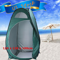 Folding Portable Outdoor Camp Toilet Large Pop Up Tent Privacy Shelter
