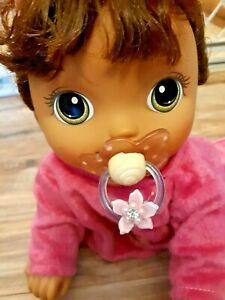 PACIFIER FOR BABY ALIVE🌺🌸  GO BYE BYE . TRIGGERS  SUCKING NOISE   :NO DOLL INC