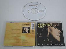 HILDEGARD KNEF/IHRE GROSSEN ERFOLGE(EASTWEST 3984-29195-2) CD ALBUM