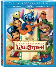 Disney's Lilo & Stitch 1 + 2 Stitch Has a Glitch [Blu-ray + DVD Box Set] NEW