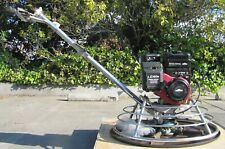 "Central Machinery 30"" Walk Behind Concrete Power Trowel Finisher Gas Engine #1"