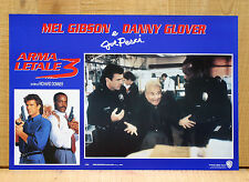 ARMA LETALE 3 fotobusta poster Lethal Weapon 3 Donner Gibson Glover Pesci AB48