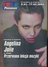 TELE PROGRAM 2000/18 (5/5/2000) ANGELINA JOLIE
