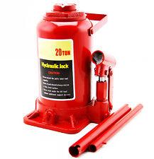 20 Ton Hydraulic Bottle Jack Heavy Duty 40,000 Lbs. Lift Automotive Tools