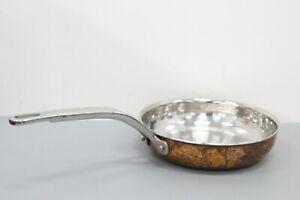 "Lagostina Martellata Hammered Copper 8"" Skillet Pan"
