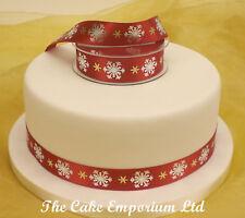 Snowflake ( Frozen) Cake Topper Ribbon 1.5 Metre
