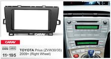 Car Stereo Fascia Dash Panel 2 Din Frame Trim Kit for TOYOTA Prius (ZVW30/35)