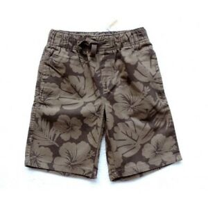 Gymboree Boys Floral Printed Pull-On Shorts Size: 6