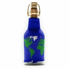 NEW Freaker USA Beverage Koozie/Insulator - Atlas Shrugged/World Map - 1 Piece