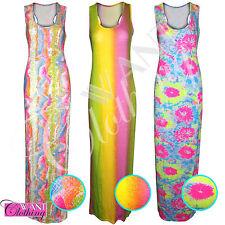 Unbranded Women's Sleeveless Full Length Stretch, Bodycon Dresses