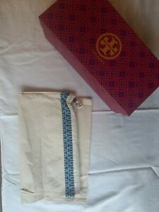 AUTHENTIC Tory Burch Empty Shoe Box And Shoe Bag Combo