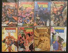 DC Comics Superman Wonder Woman 14 21 GL 22 Mon 23 Loon 23 24 25 26 Variant