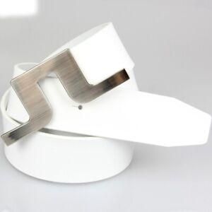 Golf Sport Pants Belt Casual J Lindeberg Logo Style White Black Color
